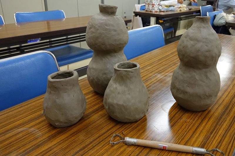 陶芸教室の作品1