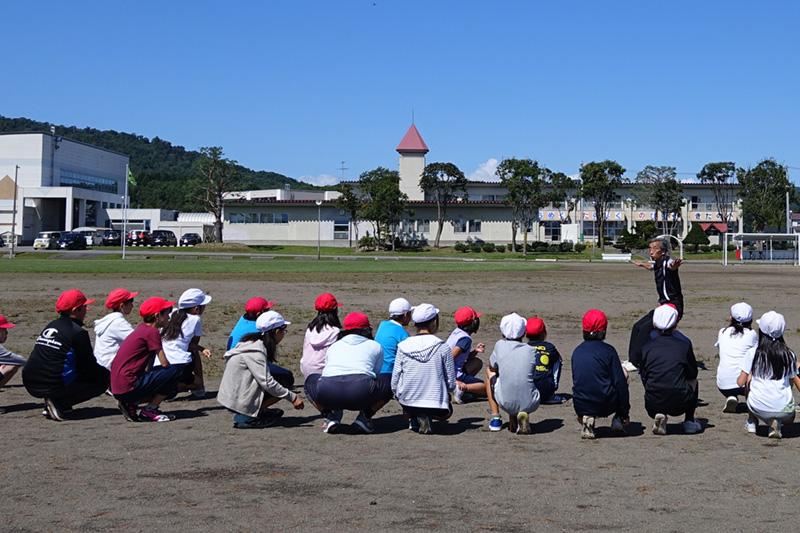 北野小学校でのコオーディネーショントレーニング
