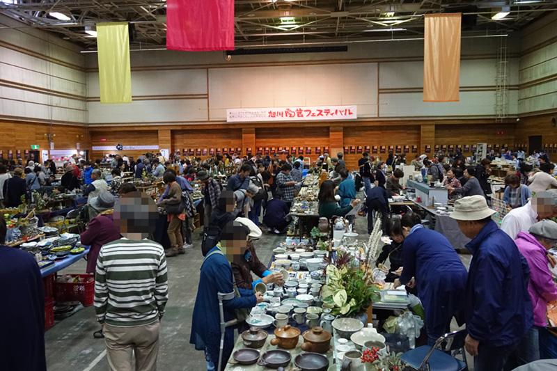 陶芸フェスティバル会場