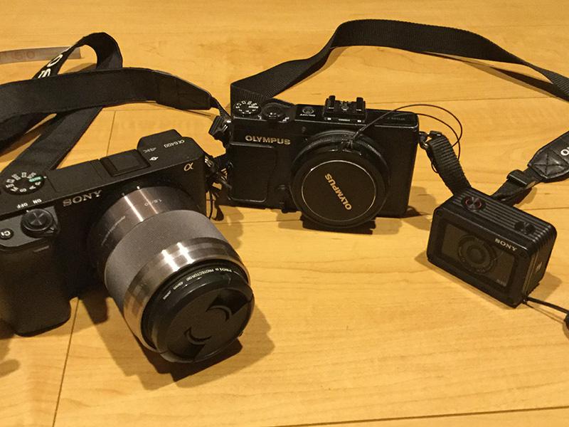 うちにあるカメラ