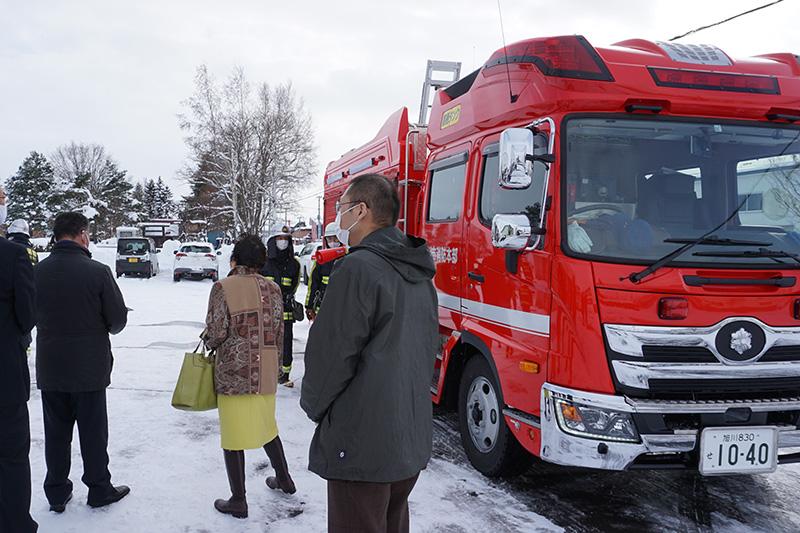 消防車視察