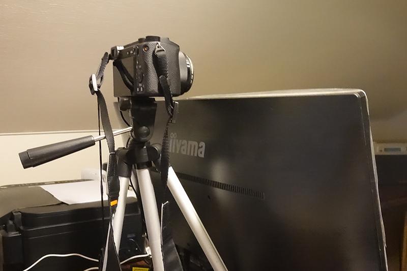 カメラはこんな感じ